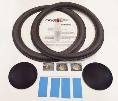 McIntosh 12 inch Refoam Kit (F12-8)-2200