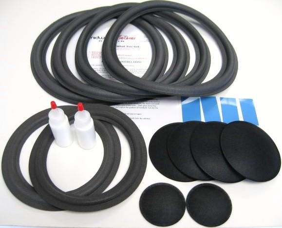 McIntosh ML-2C, ML-2M, XR7, XR19, XRT 20 Refoam Kit (F8-2, F12-8)-526