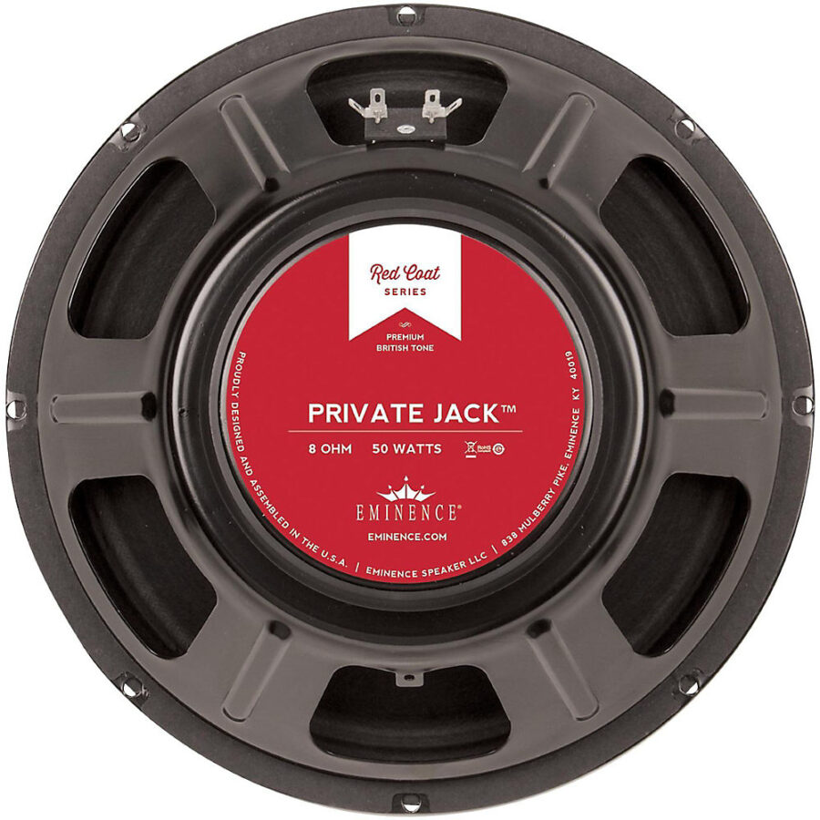 Eminence PRIVATE JACK: 12 inch Guitar Speaker-0