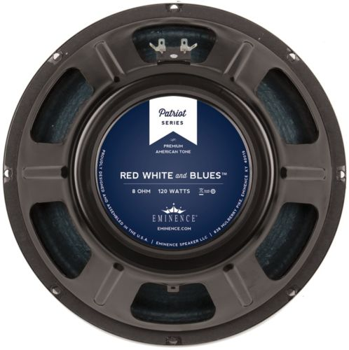 Eminence RED WHITE AND BLUES: 12 inch Guitar Speaker-0