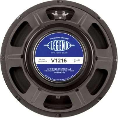 Eminence LEGEND V1216: 16 ohm 12 inch Guitar Speaker-0
