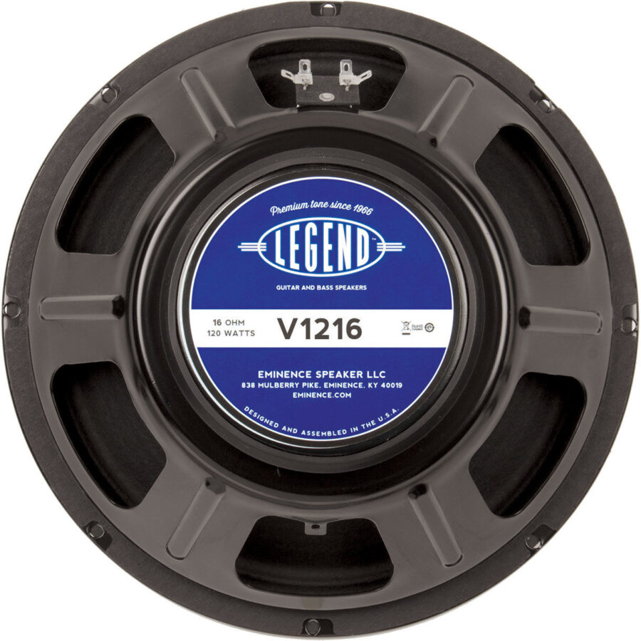 Eminence LEGEND V1216: 16 ohm 12 inch Guitar Speaker-0