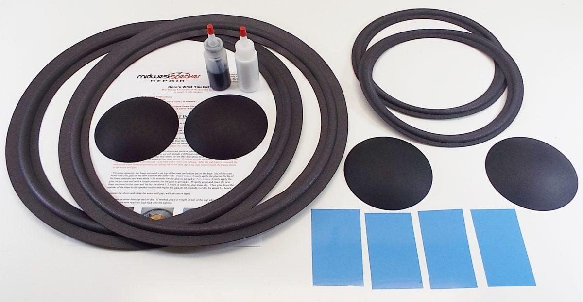JBL 4343B Complete Refoam Kit (F15-6 & F10-12)-1221