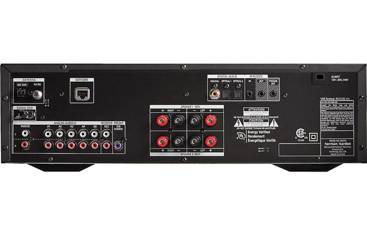 Harman Kardon HK 3770 Stereo Receiver w/ Bluetooth-1112