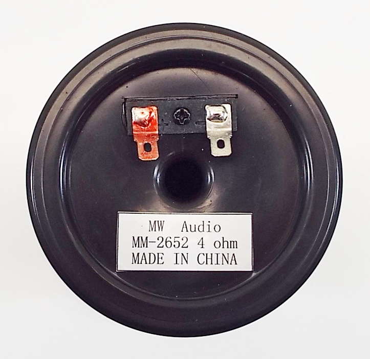 MW Audio MM-2652: Infinity Copy Midrange for Inf part # 902-2652-1757