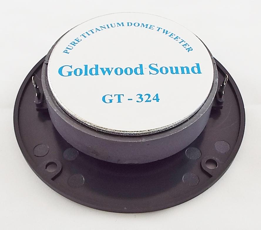 Goldwood GT-324: 1 inch Titanium Dome Tweeter-1232