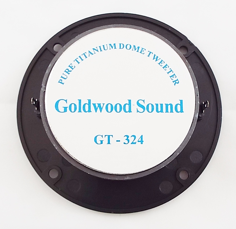 Goldwood GT-324: 1 inch Titanium Dome Tweeter-1231
