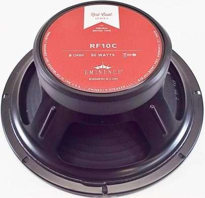 Eminence RF10C: 10 inch Guitar Speaker- Red Fang Ceramic Magnet-1330