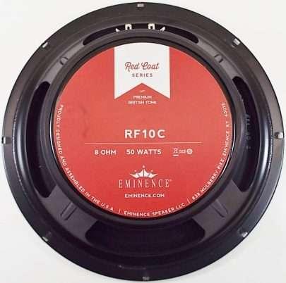 Eminence RF10C: 10 inch Guitar Speaker- Red Fang Ceramic Magnet-0