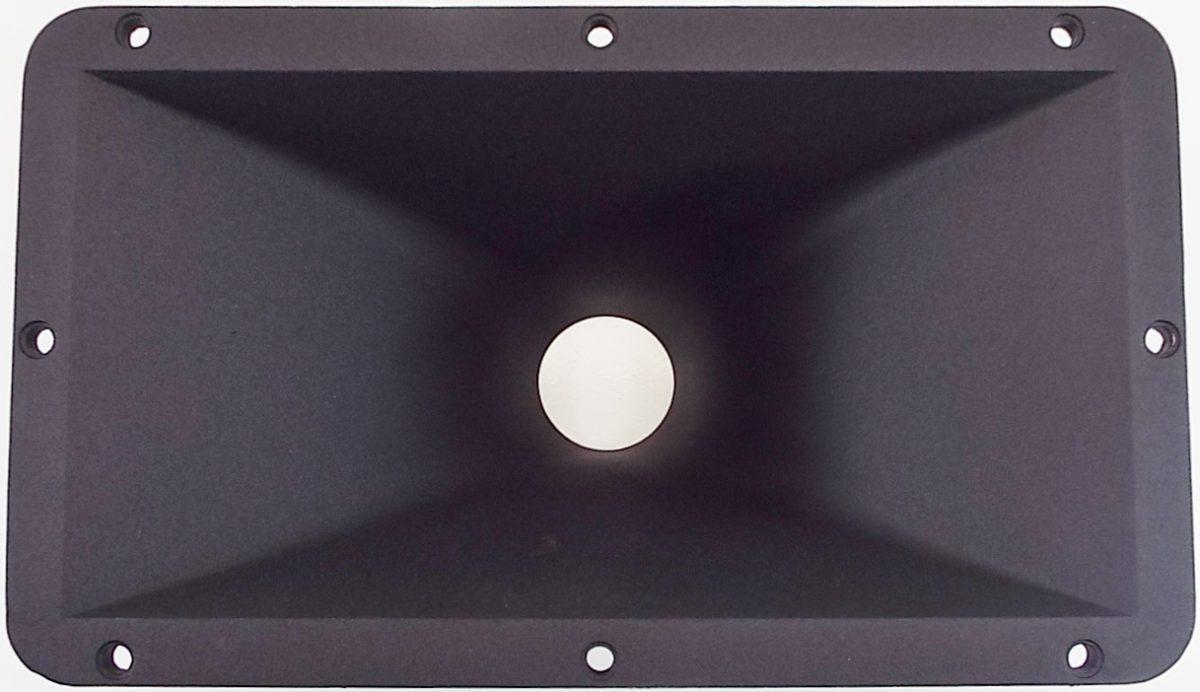 """Eminence H2EA: 7.3"""" x 12.4"""" Aluminum Horn Flare-0"""