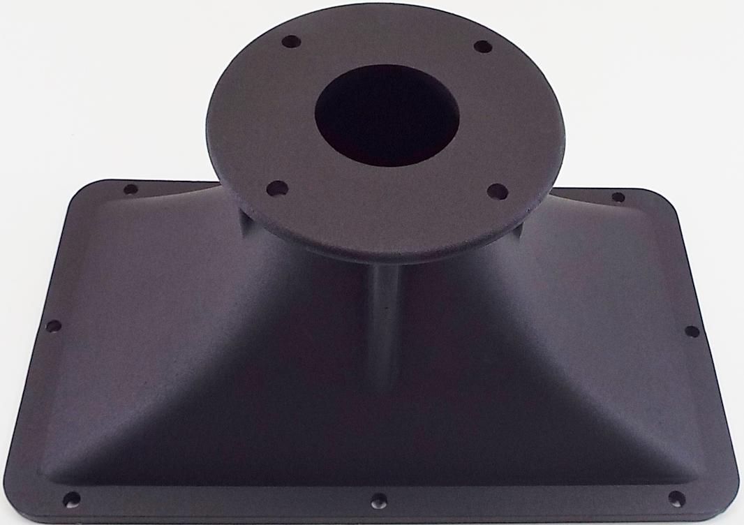 """Eminence H2EA: 7.3"""" x 12.4"""" Aluminum Horn Flare-1406"""