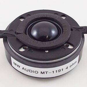 MW Audio MT-1191: 1 inch Dome Tweeter for KEF 104/2 Speaker-0