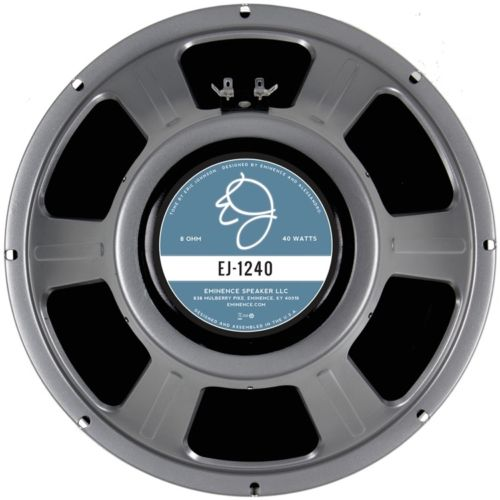 Eminence EJ1240: 12 inch Alnico Guitar Speaker Eric Johnson Signature Series-0