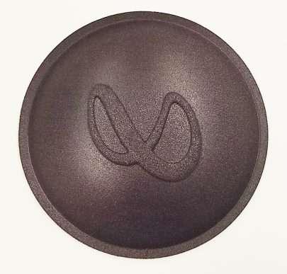 Infinity Logo Dust Cap-0