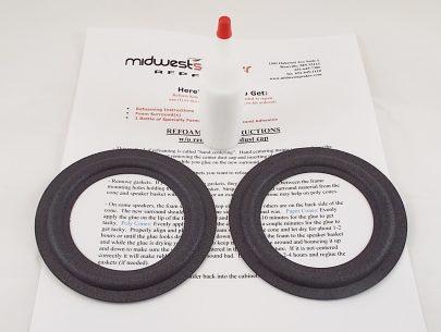"""Mark Levinson 86160-0W290 6653 4.5"""" Lexus Refoam Kit- 2 Surrounds (F4-7)-0"""