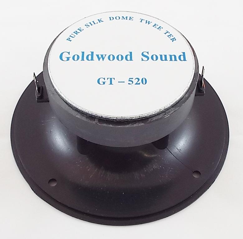 Goldwood GT-520: 1 inch Soft Dome Horn Tweeter-1240