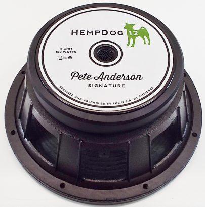 Eminence HempDog 12: 12 inch Guitar Speaker Pete Anderson Signature Series-2016