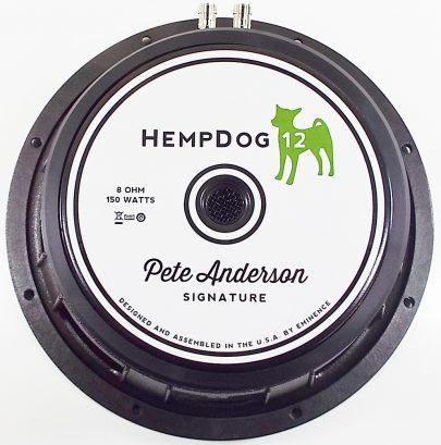 Eminence HempDog 12: 12 inch Guitar Speaker Pete Anderson Signature Series-0