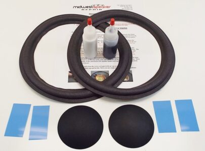 JBL 10 inch 127H-1 127H-2 127H-3 Refoam Kit (F10-3)-2545