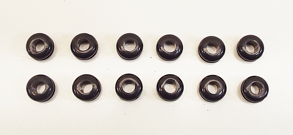 Rubber Grommets for KEF 104/2 & 105/3 Woofers- 12 pack-2544