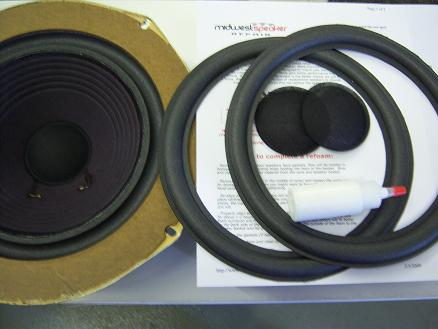 Advent 10 inch Wood Masonite Ring Refoam Kit (F10-15)-2142