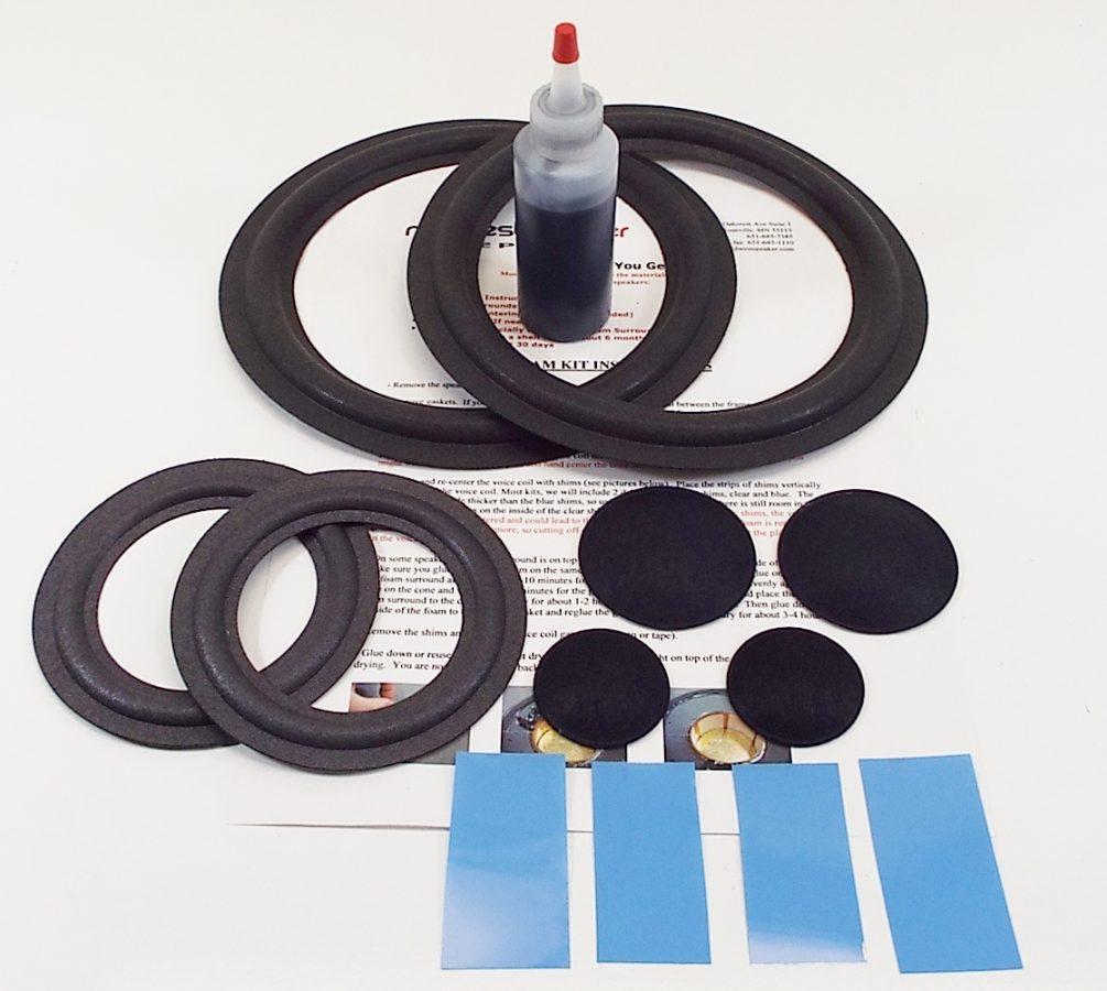 Epicure Model 3 Refoam Kit (F4-7, F8-2)-2203