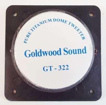 Goldwood GT-322: 1 inch Titanium Dome Tweeter-2360