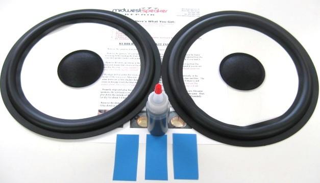 JBL 118H L56 10 inch Rubber Surround Kit (R10-1)