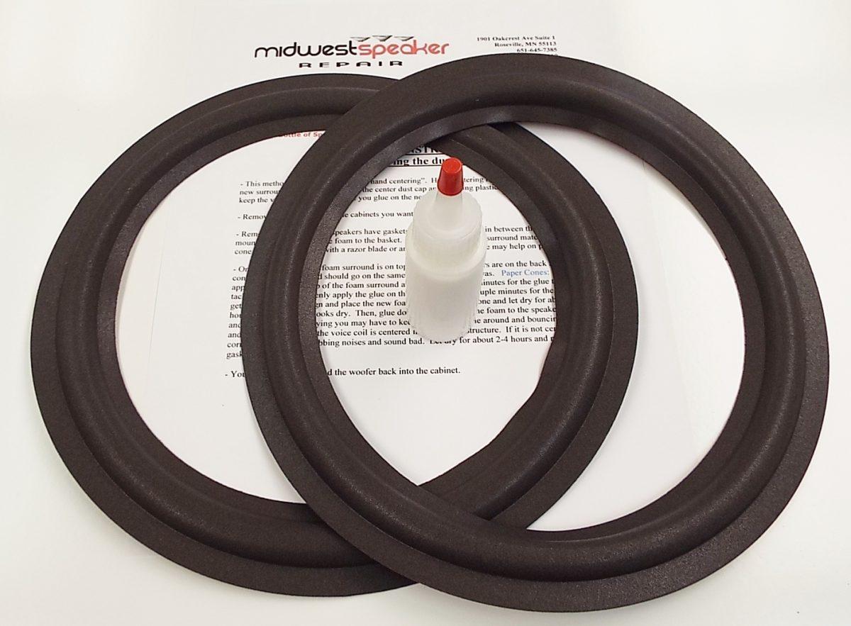 Design Acoustics PS-10 10 inch Refoam Kit (F10-5)-2531