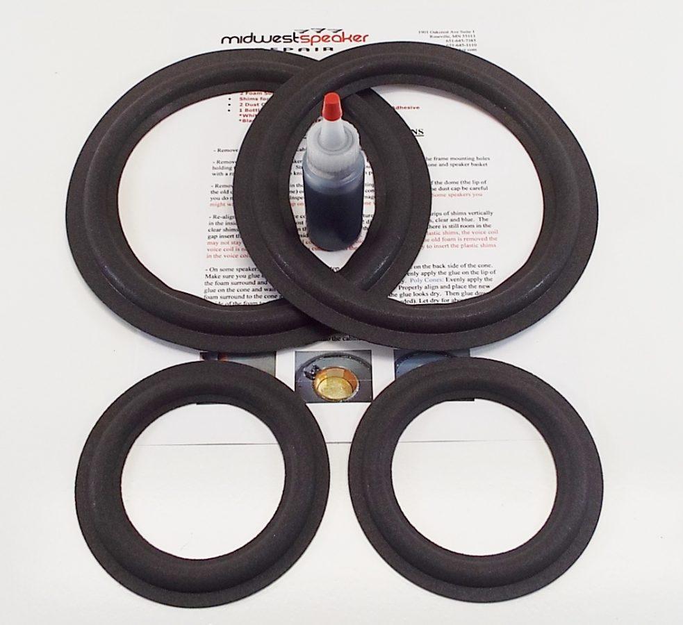 Infinity Kappa 5.1 Refoam Kit (F8-2 & F4-10)-2565