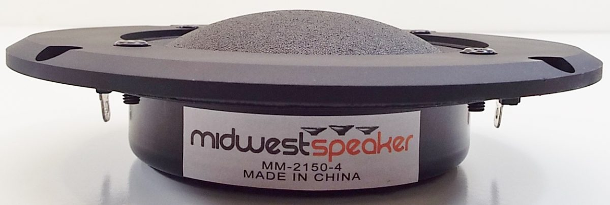 MW Audio MM-2150: 3 inch Dome Infinity Copy Midrange-2688