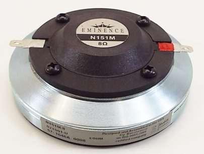 Eminence N151M-8 Bolt-on Ring Radiator Compression Driver -2741