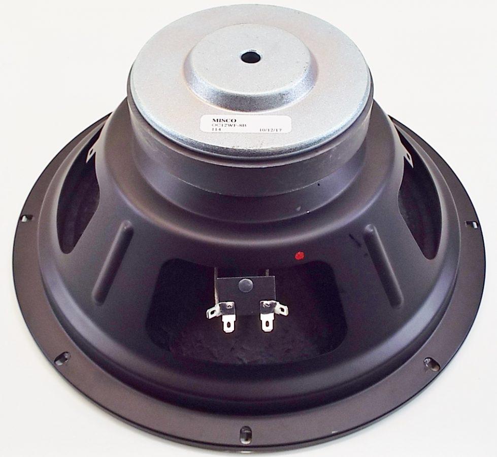 MW Audio OC12WF-8B: 12 inch Woofer -2753