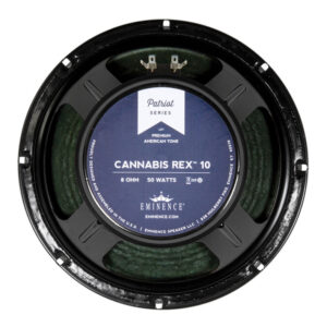 "Eminence CANNABIS REX 10 : 10"" inch Hemp Cone Guitar Speaker"