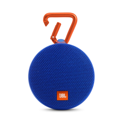 JBL Clip 2 Blue Portable Bluetooth Speaker-0