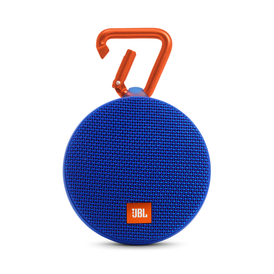 JBL Clip 2 Blue Portable Bluetooth Speaker-0