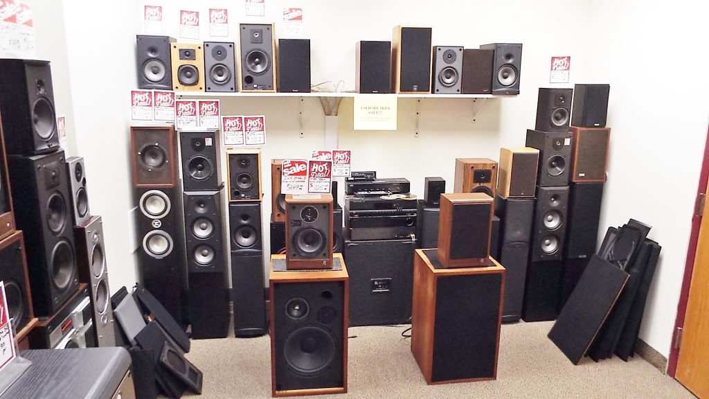 Buy Sell Trade Speakers Used Speakers Pro Amp Home Audio